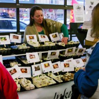 Soaps made by Inky Quills, which also sells products at many Kitsap Farmers Markets.