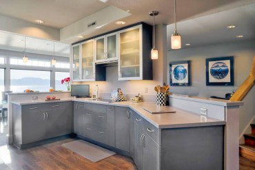Bainbridge Island Home is a Study in Gray