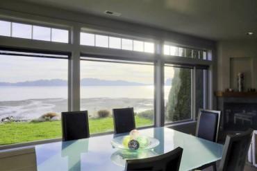 Bainbridge Island Home is a Study in Gray