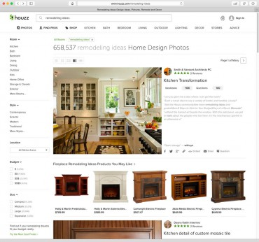 Houzz Remodeling Ideas