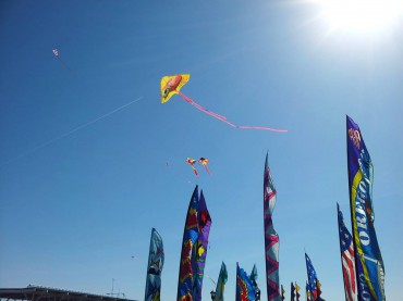 Kites over Kingston