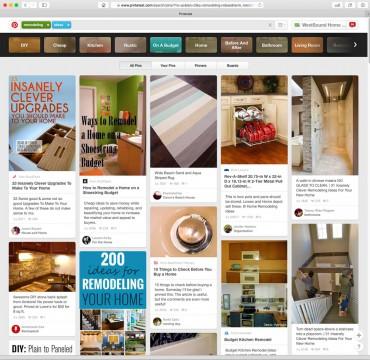 Pinterest Remodeling Ideas