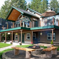 The Forever Home on Mason Lake