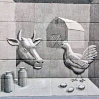 Mural at the Port Orchard Library