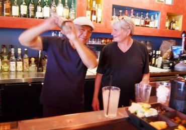 Burrata Bistro and Paella Bar - Owners Alfonso Valdez and Kim Tomlinson