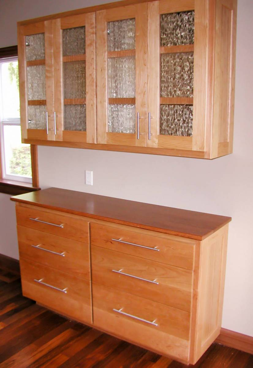 Cherry wood cabinets 100 cherry cabinet doors curio for Anigre kitchen cabinets