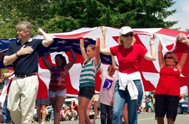 Old Time Fourth of July in Kingston