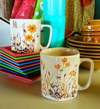 Seventies Coffee Cups