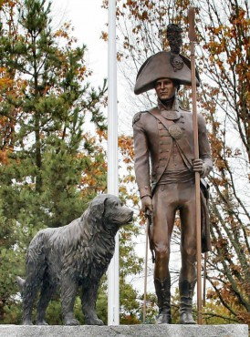 Meriwether Lewis at Lewis Memorial Park, Joint Base Lewis-McCord