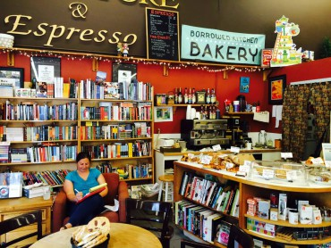 Liberty Bay Books welcomes customers with its new espresso and bakery.