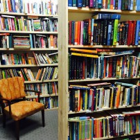 The Kingston Bookery houses more than 20,000 used books.