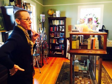 Danya Simkus of Port Gamble's No. 7 Books has spent a lifetime as a book lover.