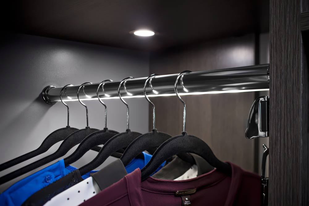 Lighted Closet Rod By Hafele