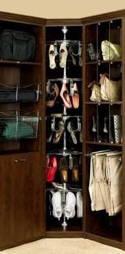 Shoe organizer 5-shelf women's lazy shoe-zen by Rev-A-Shelf