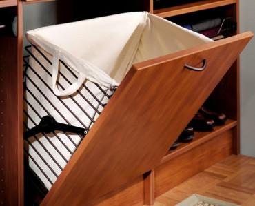 Closet hamper by Hafele