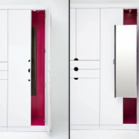 Mirror pullout for closet by Rev-A-Shelf