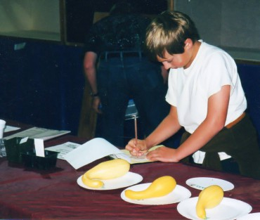 The judging contest at the Kitsap County Fair