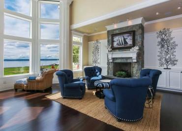 Designer Fox Island Home