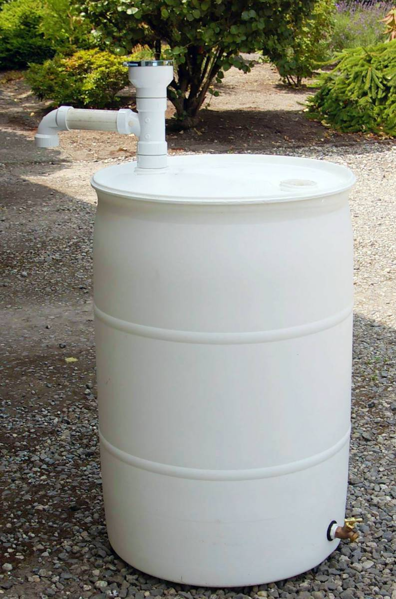 hook up rain barrel Unless you hook a  if you're going to run tandem rain-barrels and drill into the barrel then you might  the first barrel will fill up faster.