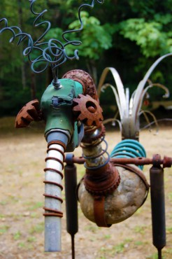 Jeff Yeager Yard Art