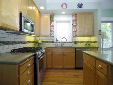 Cup pulls by Top Knobs — Design by A Kitchen That Works LLC