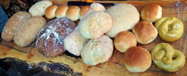 Don Heppenstall enjoys making a variety of breads and rolls to share with friends and family.