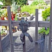 Frog guarding the Fortner garden