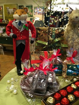 Boehm's of Poulsbo offers a variety of cheerful holiday choices