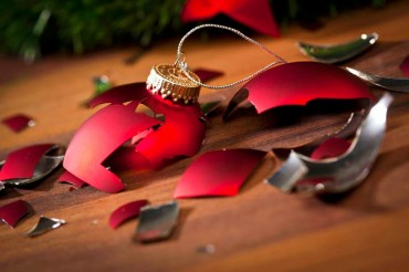 Broken Christmas Decoration
