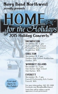 Home for the Holidays Flyer 2015