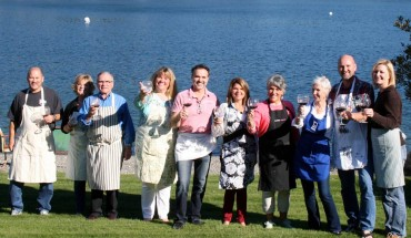 A toast to the Gig Harbor Cooking Club