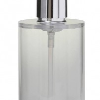 Pombo soap pump in chrome by Valsan