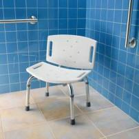 Freestanding shower seat by Moen