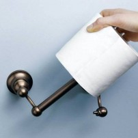 Eastlake pivoting toilet tissue holder in oil- rubbed bronze by Moen