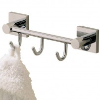 Braga collective hook in chrome by Valsan