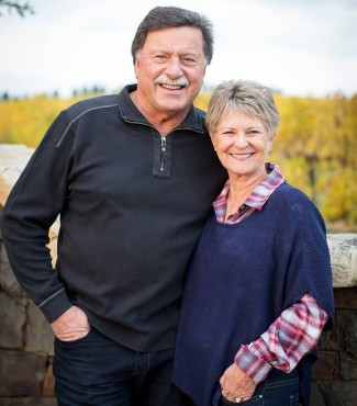 Gary and Nancy Figgins of Leonetti Cellars