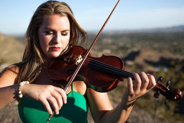 Brittany Boulding, guest performer from Seattle Symphony Orchestra