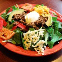 El Sombrero - Spinach Beef Salad