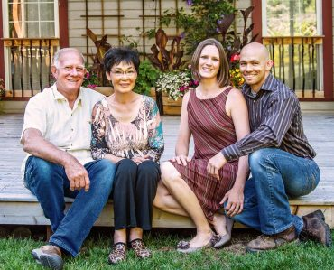 Empress Hill - Left to right: Joe and Chong Spreier with owners Emily and Charles Hirsch