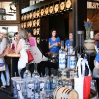 Heritage Distillery tasting room was a popular stop on the Sip & Stroll.
