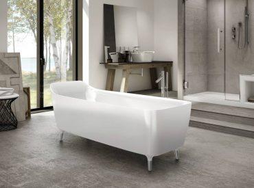 Encore Aria freestanding bathtub by Fleurco