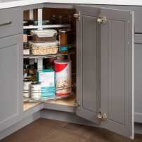 Eazy Susan by Hardware Resources (in cabinet)