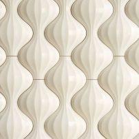 Lantern textural wall tile — Kaza Series in Hello Eternity by Walker Zanger