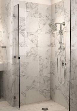 Annex shower rail in chrome by Moen