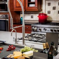 Franke Chef Center Masterchef faucet