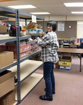 DeeAnne Johnsrude, volunteer and board member of Kitsap Food Backpacks 4 Kids