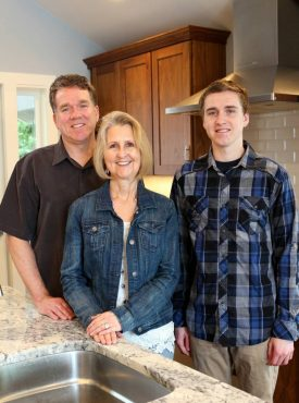 Coming Home to Keyport — Owners Bob, Caroline and Nicholas Butler (CJ not pictured)
