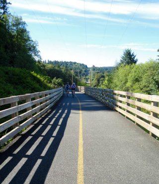 The Cushman Powerline Trail