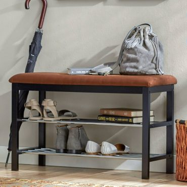 Shoe storage bench by Martin
