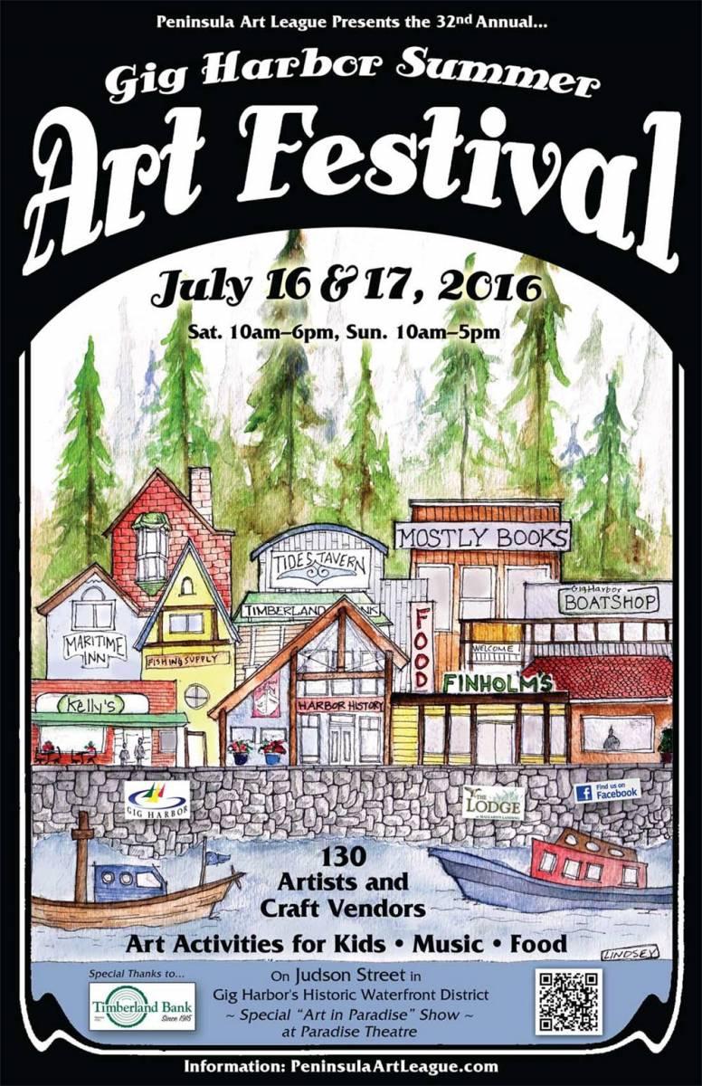 Wshg Net Gig Harbor Summer Art Festival Growing Into A